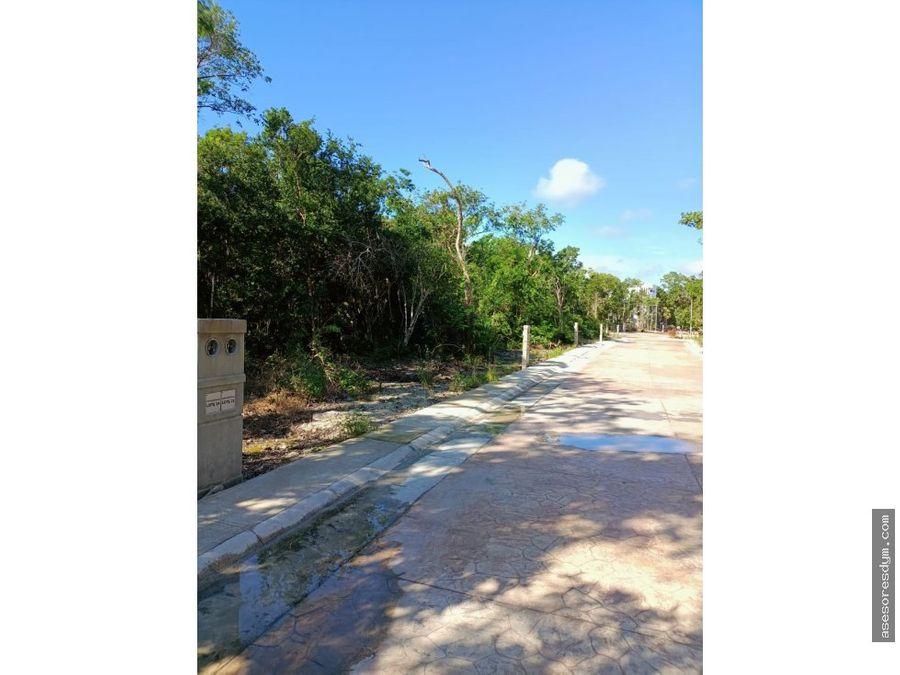 venta de terreno en puerto morelos aldea kiin quintana roo c06 l19