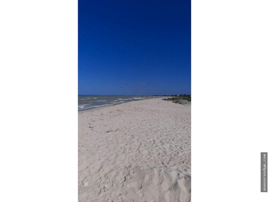 terreno en venta en sisal yucatan