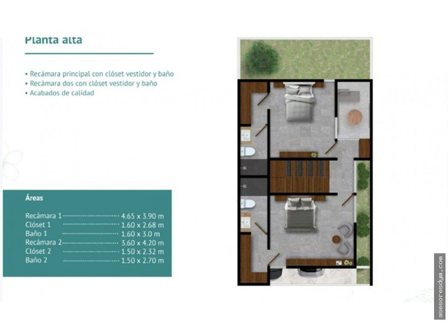venta town houses natuur con roof top montebello