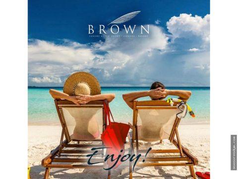 brown condos resort de lujo