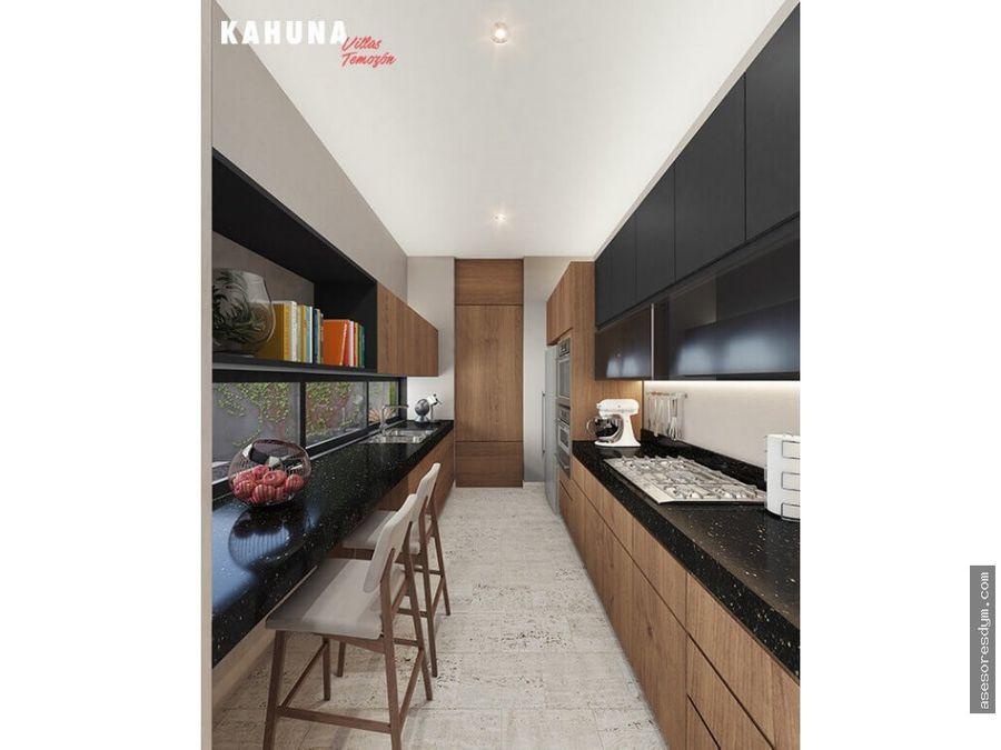 venta de casa en kahuna villas temozon