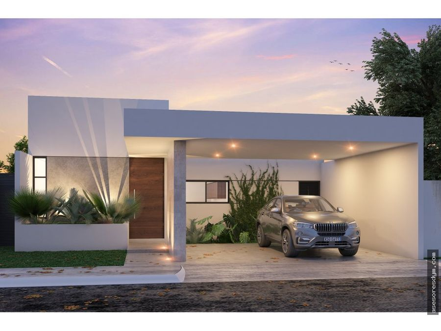 vivienda amina privada zelena conkal yucatan