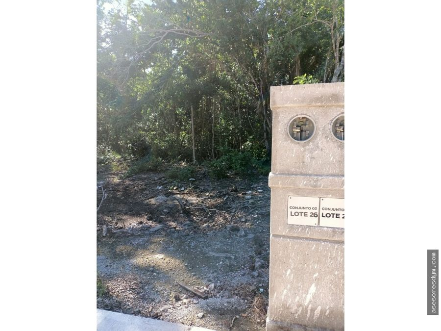 terreno en venta en puerto morelos aldea ha quintanaroo c10 l18