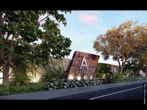 lotes residenciales algea yucatan