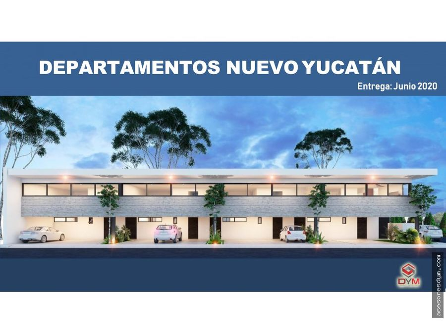 preventa de departamentos nuevo yucatan
