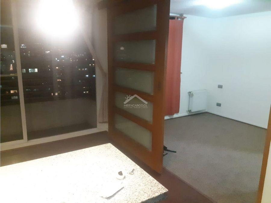 departamento 1 dormitorio metro santa lucia