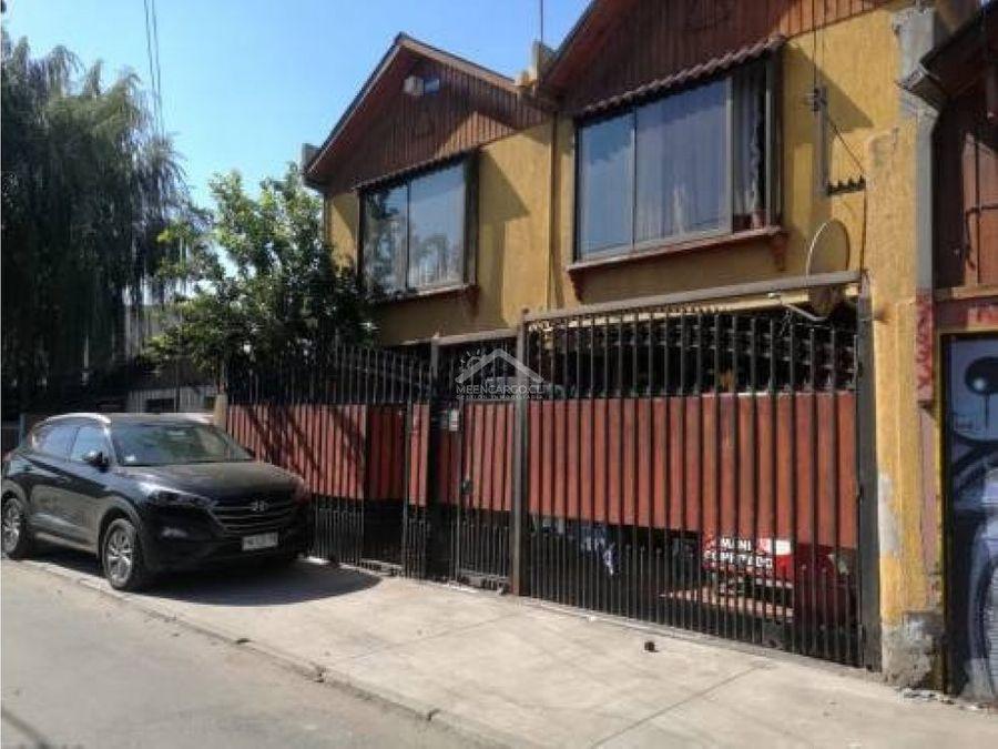venta pudahuel casa de 2 pisos