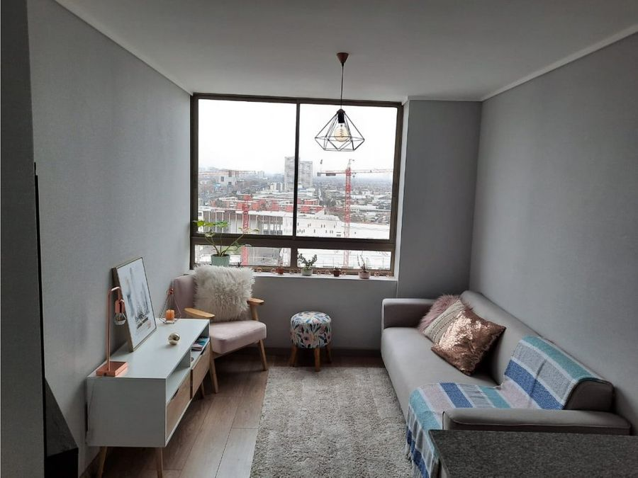 hermoso departamento 1 dormitorio san joaquin