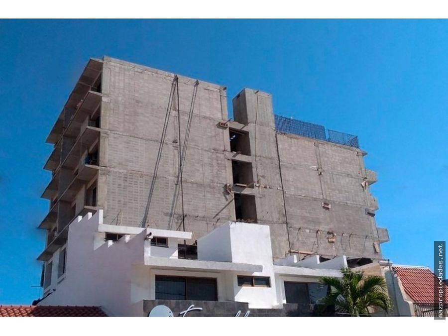d324 venta departamento cerca al mar en mazatlan