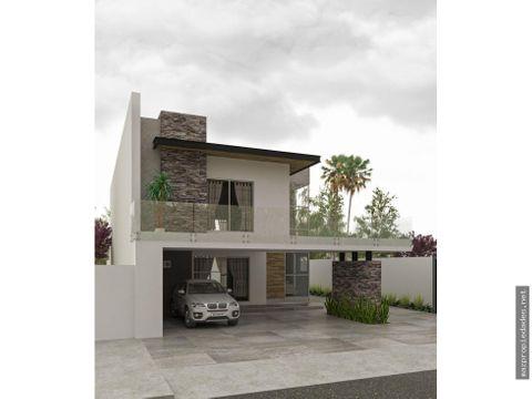 casa de lujo en construccion coto residencial en marina mazatlan