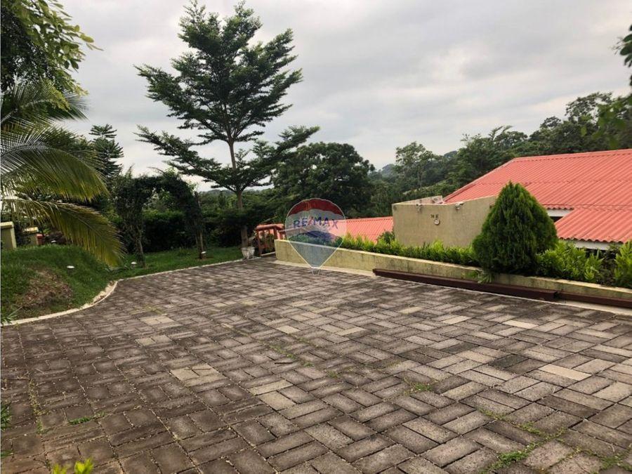 casa en quinta residencial la hacienda
