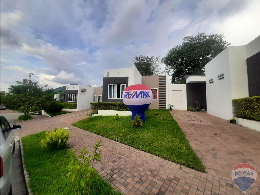 amplia vivienda en quintas san antonio cluster 2 nejapa