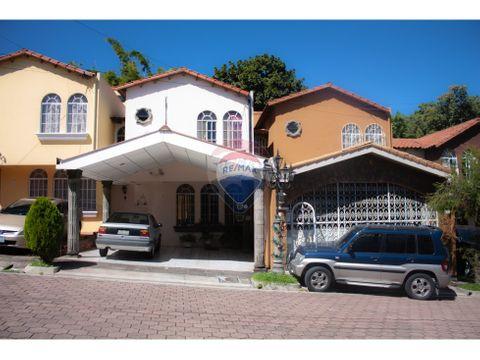 casa en residencial monaco en colonia escalon