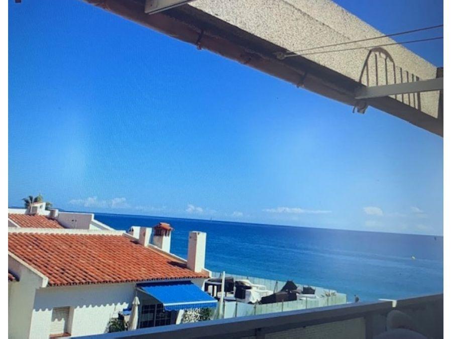 apartamento frontal al mar en miami playa