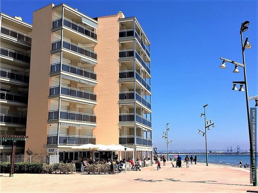 apartamento en la pineda en venta vistas al mar