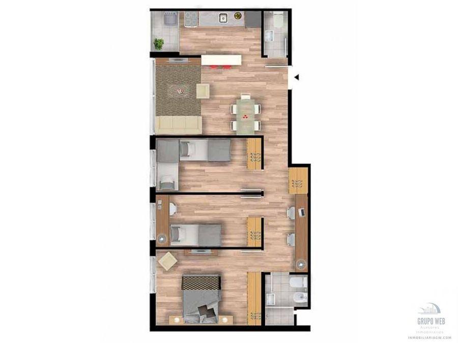 venta apartamento montevideo en la union