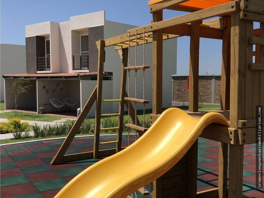 preciosas casas de dos niveles en aquasol residencial ayala morelos