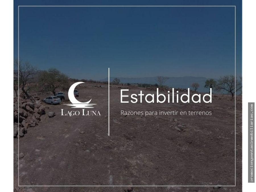 lago luna terrenos residenciales en ribera de chapala tuxcueca jal