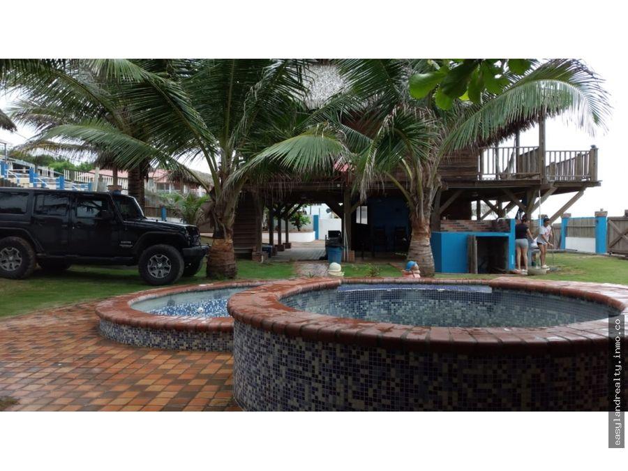 vendo area turistica playa el uverito idel para negocio
