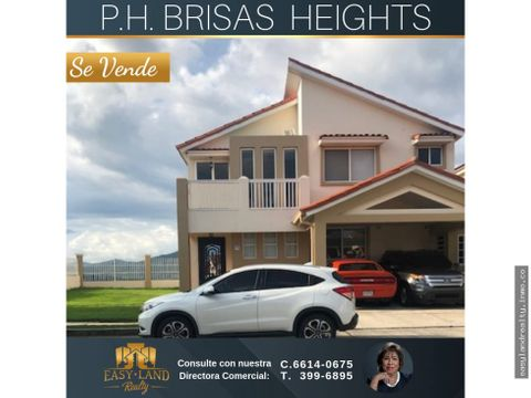 vendo casa brisas heights en brisas del golf