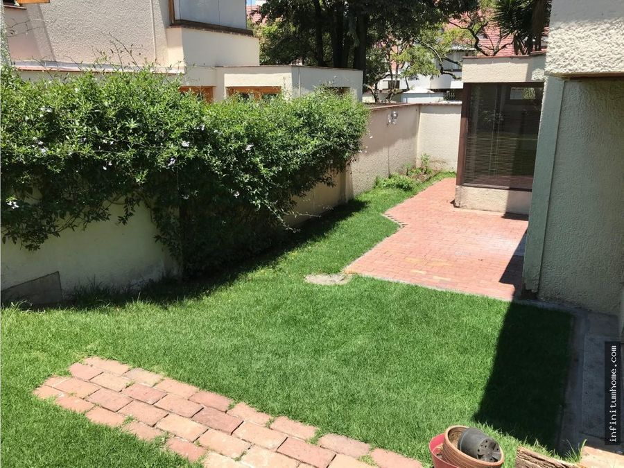 casa cedritos con jardin
