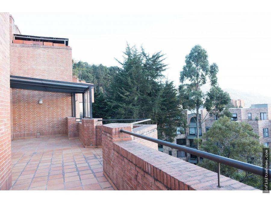 bosque medina penth house con amplia terraza