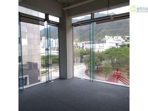 oficinas en renta en valle oriente de 425m2 alf