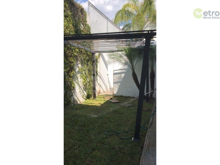casa renta en rincon de san jeronimo crecamara en planta baja mao