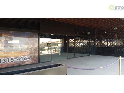 localrenta para restaurante en san jeronimo de 482 m 2 mao