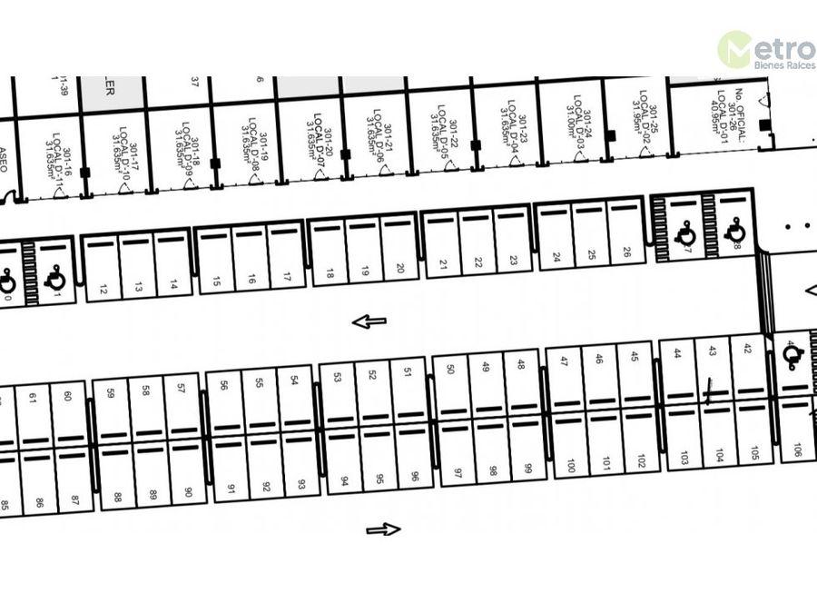 oficinas en renta en raul salinas 35694 mts2 1nivel en plaza lsl