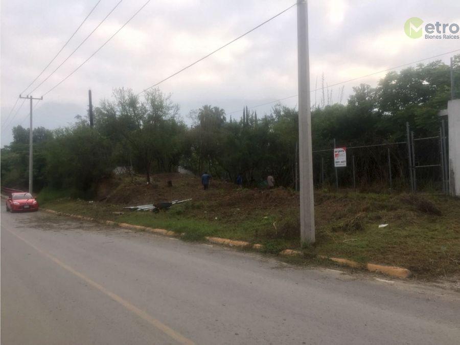 terreno en venta en condado de asturias santiago nl eda