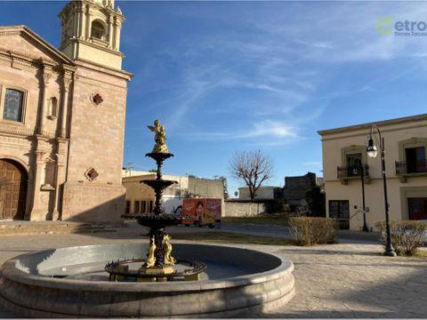 terreno en renta centro de linares frente a catedral lsl