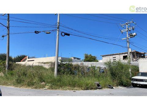 terreno en renta en esquina a unos metros de eloy cavazos hz