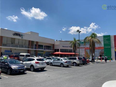 local renta 58 mts2 planta alta plaza santa catarina lsl