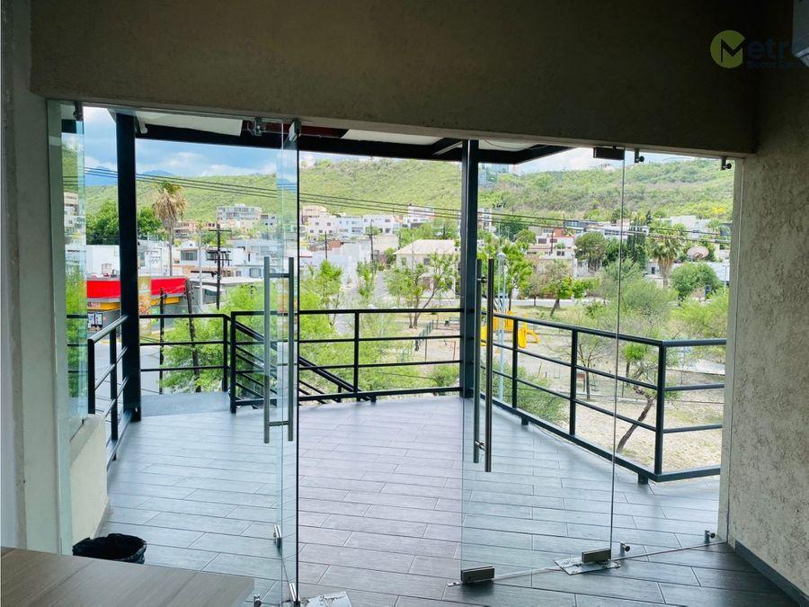 local oficina cumbres 1 sector piso 3 con terraza lsl