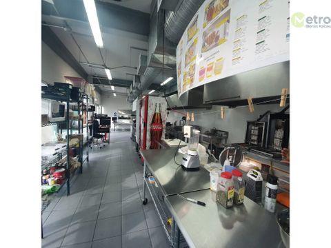 local en renta para produccion de comida dark kitchen amg