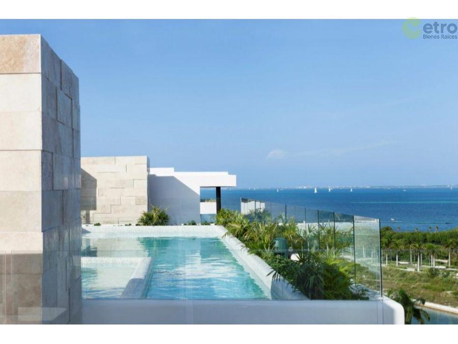 venta de departamento en puerto cancun nlc c 306