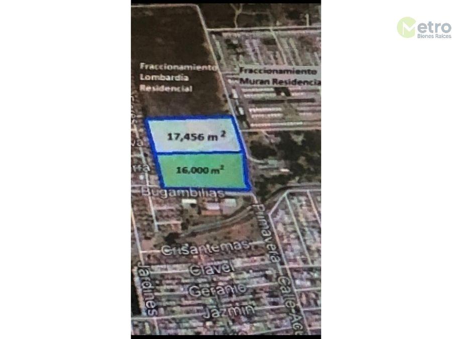 terreno en venta lombardia 17456 mts2 lsl