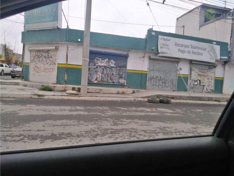 local en renta en esquina en av antiguos ejidatarios 120 m 2 mao