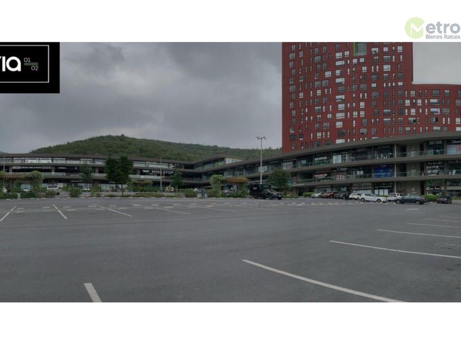 excelente local en planta alta en plaza via san jeronimo de 63 m 2 mao