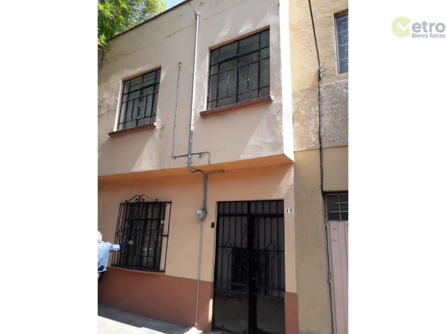 casa en venta en la cdmx para inversionistas o remodelacion rci