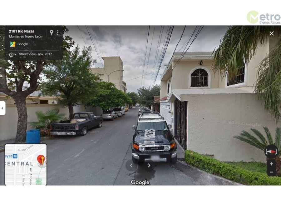 casa en venta 250 m area mitras 5 min uanl 10 min fac de medicina