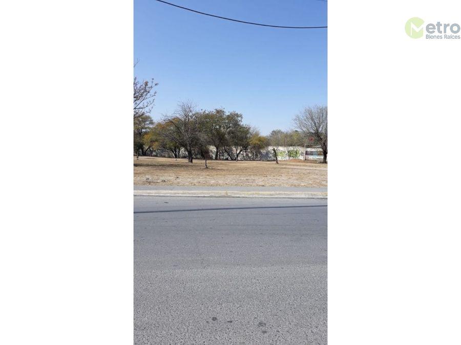 terreno en venta san nicolas 2814 m 2 esquina col los naranjos
