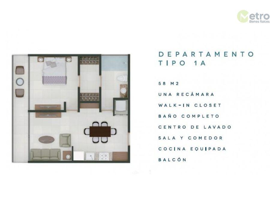 departamentos en preventa centro de cozumel 1a avc