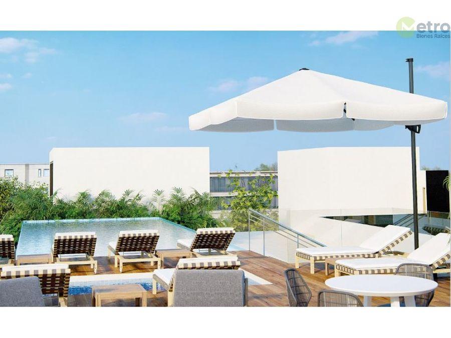 penthouse en preventa playa del carmen tipo b avc