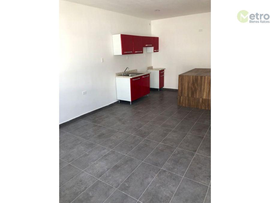 departamento en renta tipo loft en mirador residencial a nlc