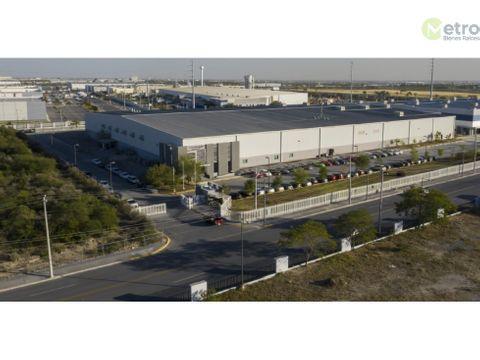 nave industrial en renta en guadalupe dentro de parque industrial hz