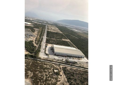 terreno en venta industrial periferico escobedo hz