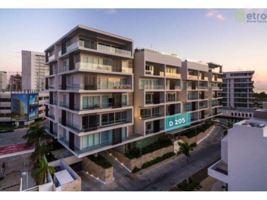 venta de departamento en puerto cancun nlc d 205
