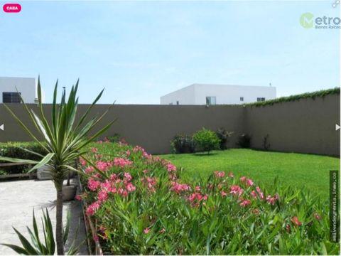 bonita y amplia casa en portal del norte 750 m 2 terreno ideal